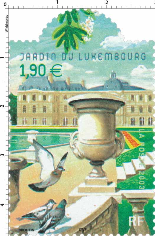 2003 JARDIN DU LUXEMBOURG