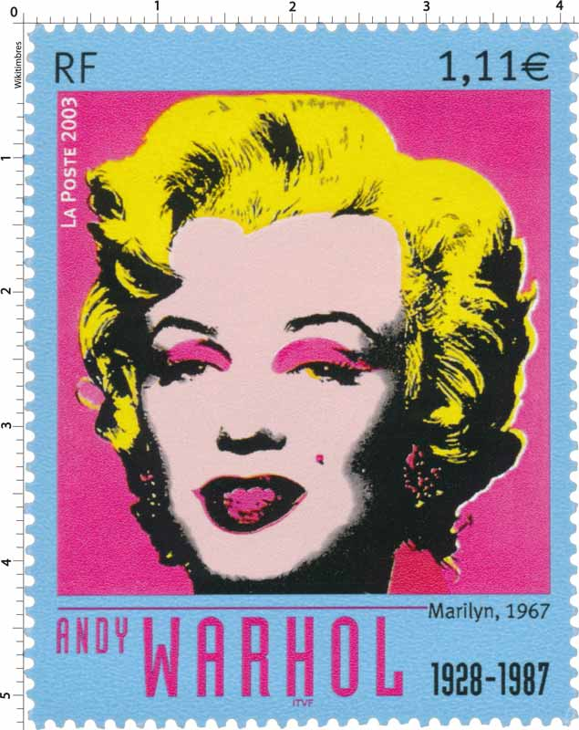 2003 ANDY WARHOL 1928-1987 Marilyn 1967
