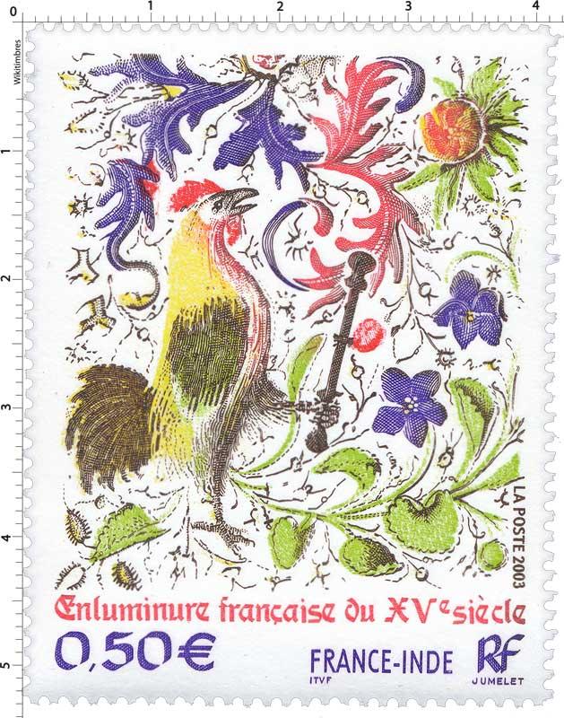 2003 Enluminure française du XVe siècle FRANCE-INDE