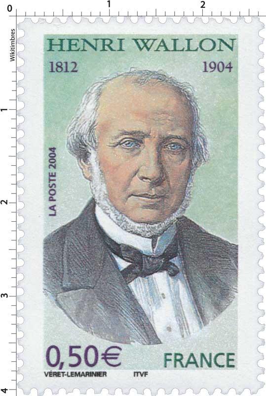 2004 HENRI WALLON 1812-1904