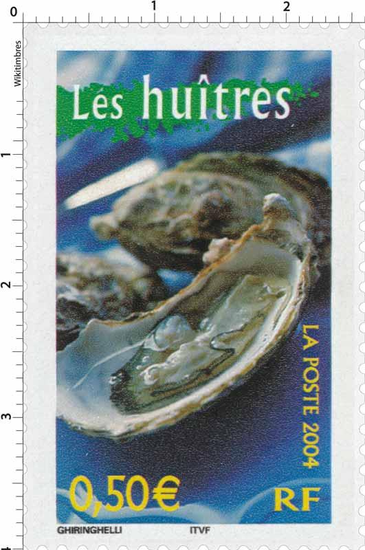 2004 Les huîtres