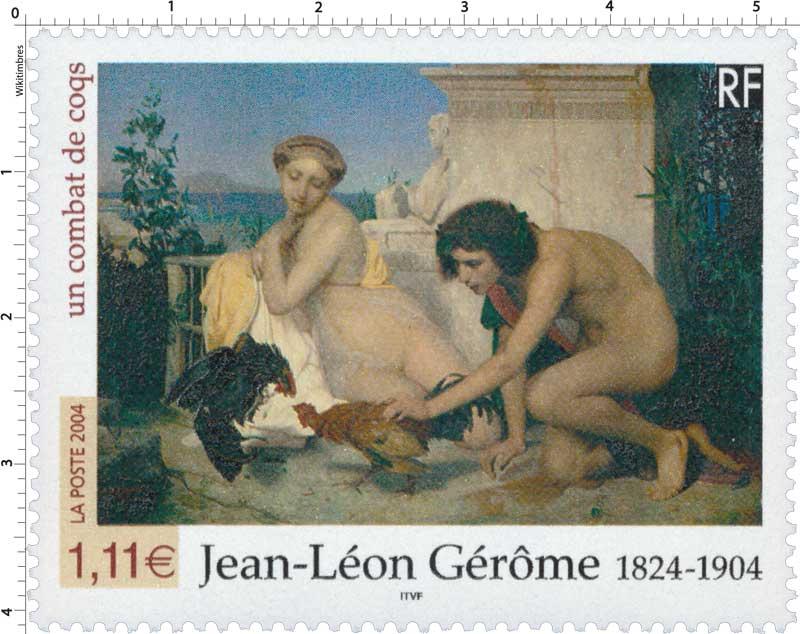 2004 Jean-Léon Gérôme 1824-1904 un combat de coqs