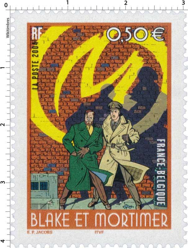 2004 BLAKE ET MORTIMER FRANCE-BELGIQUE