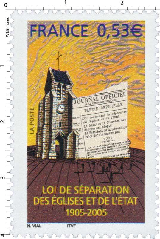 Timbre loi de s paration des glises et de l 39 tat 1905 for Architecte urbaniste de l etat