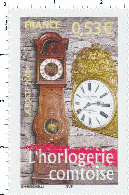 2005 L'horlogerie comtoise