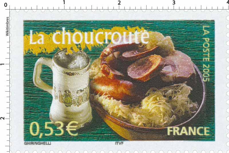 2005 La choucroute