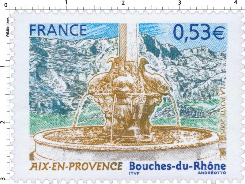 Timbre 2005 aix en provence bouches du rh ne wikitimbres - Poste jean moulin salon de provence ...