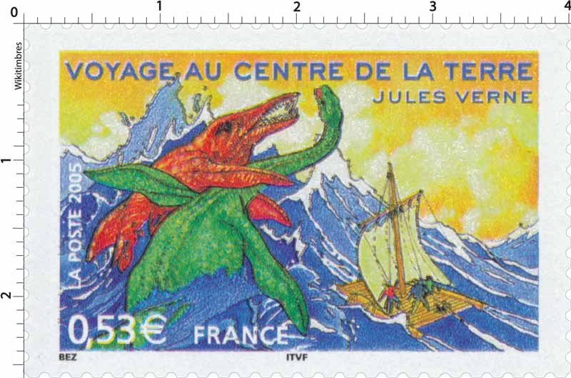 2005 VOYAGE AU CENTRE DE LA TERRE JULES VERNE