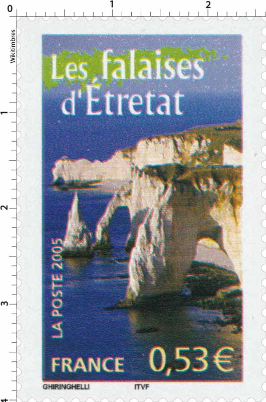2005 Les falaises d'Étretat