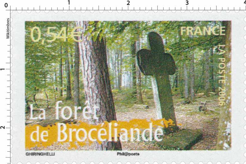 2006 La forêt de Brocéliande
