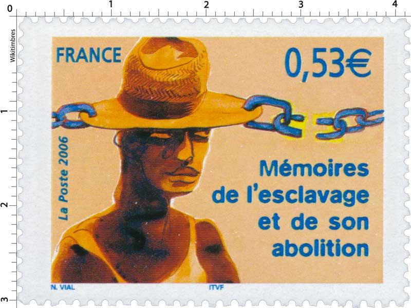 2006 Mémoire de l'esclavage et de son abolition