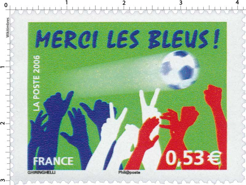 2006 MERCI LES BLEUS !