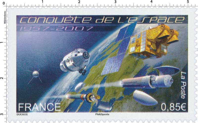 Conquête de l'espace 1957-2007