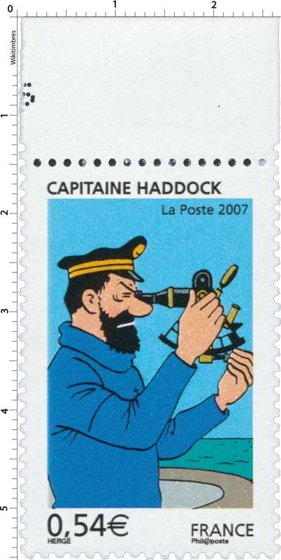 2007 CAPITAINE HADDOCK