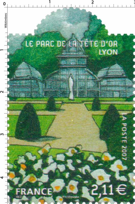 2007 LE PARC DE LA TÊTE D'OR LYON