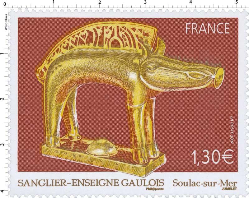 2007 SANGLIER –ENSEIGNE GAULOIS Soulac-sur-Mer