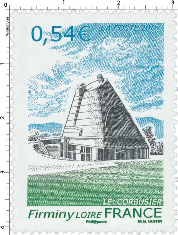 2007 Firminy LOIRE LE CORBUSIER