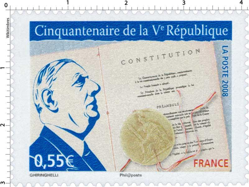2008 Cinquantenaire de la Ve République