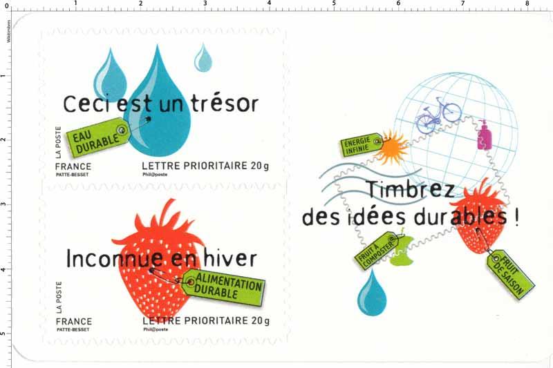 Timbrez des idées durables !