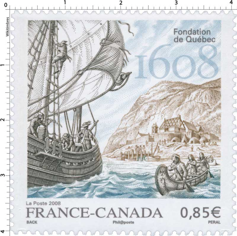 2008 Fondation de Québec 1608 FRANCE-CANADA