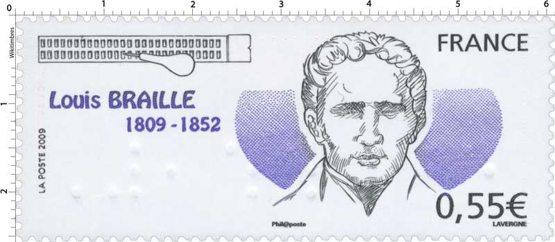 2009 Louis BRAILLE 1809-1852