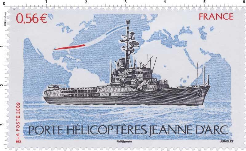 2009 PORTE-HÉLICOPTÈRE JEANNE D'ARC
