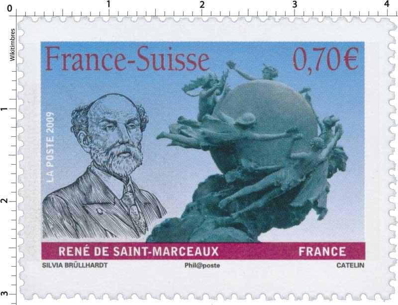 2009 France-Suisse RENÉ DE SAINT-MARCEAUX