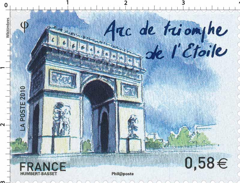 2010 Arc de triomphe de l'Etoile