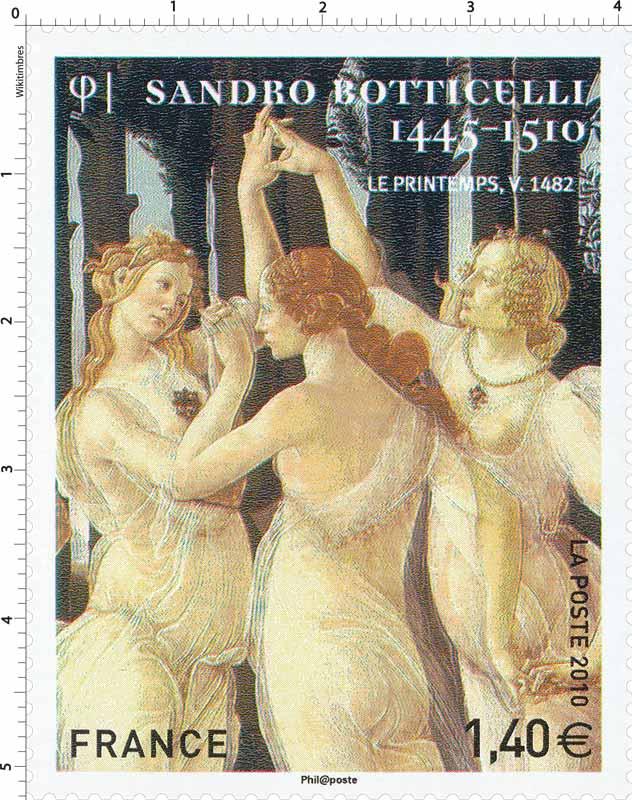 2010 Sandro Botticelli 1445 – 1510. Le Printemps, v. 1482