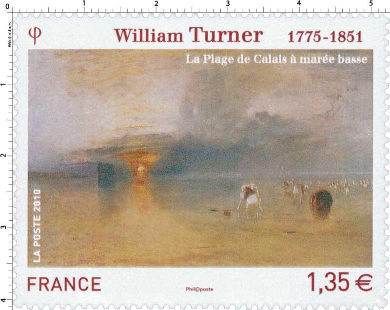 2010 William Turner 1775-1851 La plage de Calais à marée basse