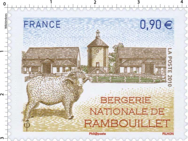 2010 BERGERIE NATIONALE DE RAMBOUILLET