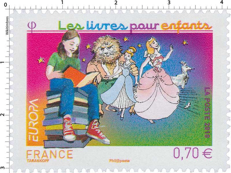 timbre 2010 europa les livres pour enfants wikitimbres
