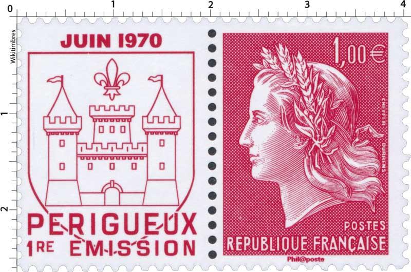PÉRIGUEUX 1re ÉMISSION JUIN 1970