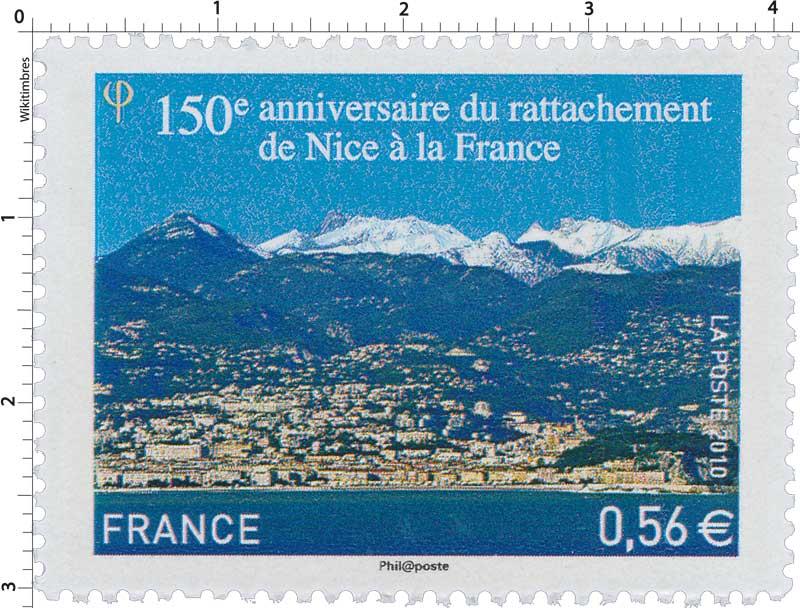 2010 150e anniversaire du rattachement de Nice à la France