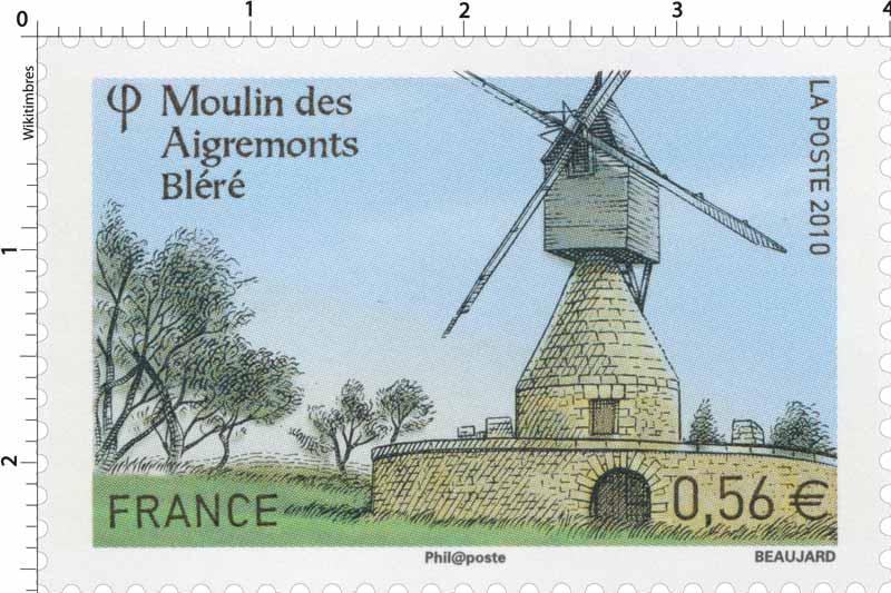 2010 Moulin des Aigremonts Bléré