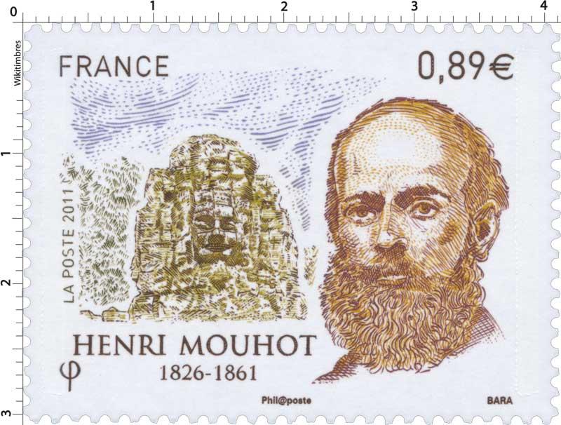 2011 HENRI MOUHOT 1826 - 1861