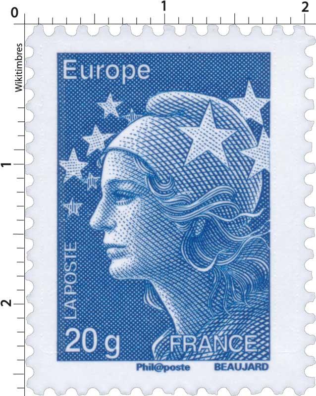 Europe - type Marianne de Beaujard