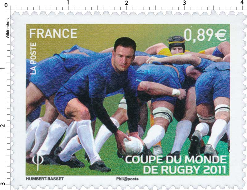 Timbre 2011 coupe du monde de rugby wikitimbres - Finale coupe du monde de rugby 2011 video ...