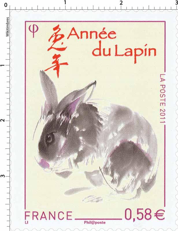 2011 Année du Lapin