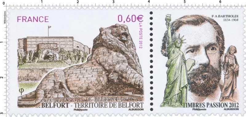 TERRITOIRE DE BELFORT aux défenseurs de Belfort 1870-1871