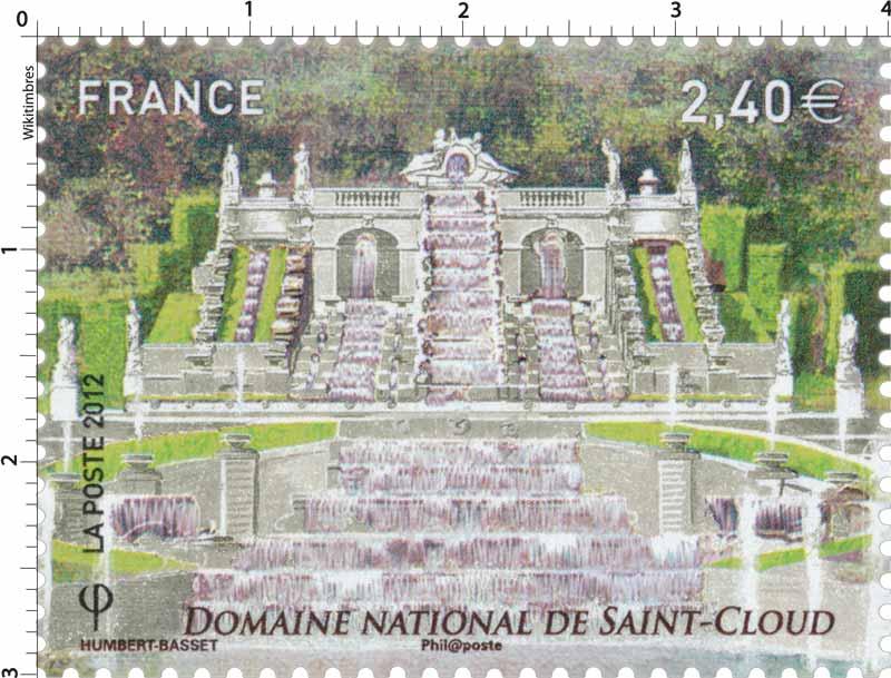 2012 Domaine National de Saint-Cloud