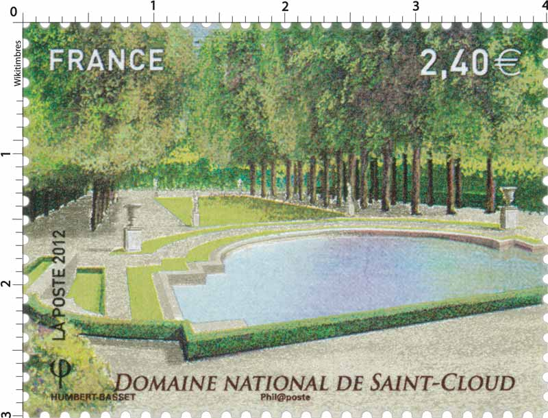 2012 Domaine National de Saint-Cloud