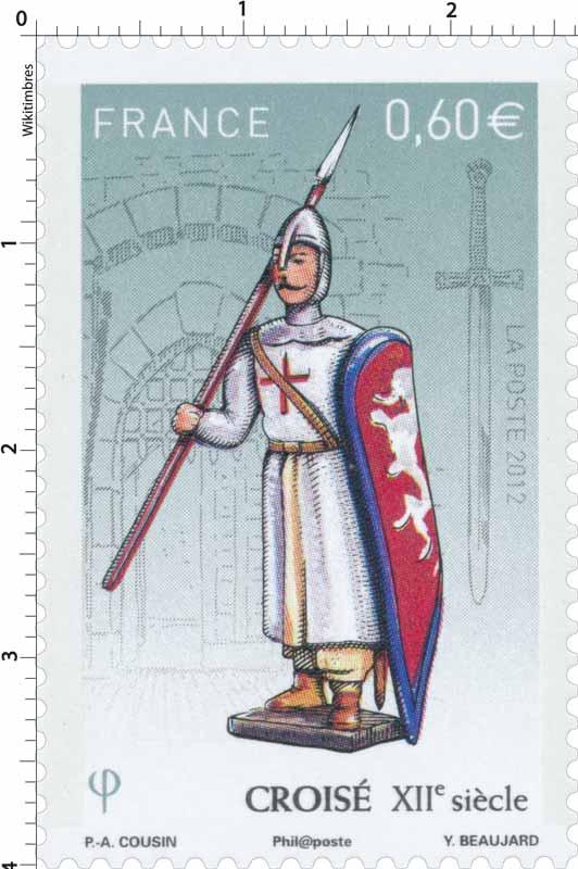 2012 croisé XIIe siècle