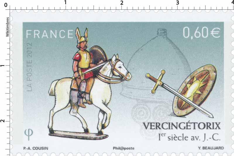 2012 Vercingétorix 1er siècle av. J.C.