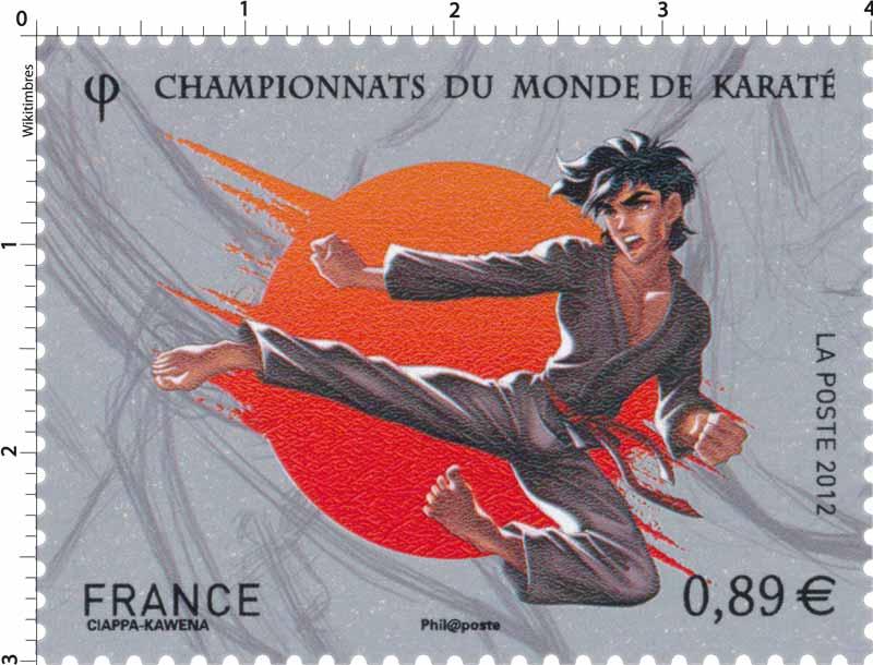2012 CHAMPIONNATS DU MONDE DE KARATÉ