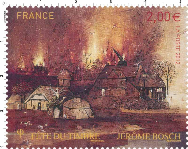 2012 fête du timbre Jérôme Bosch