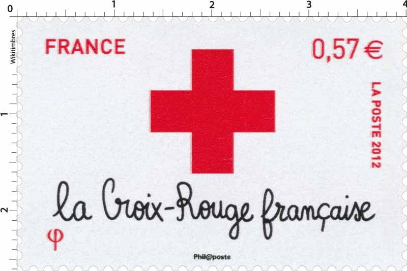 2012 la Croix-Rouge française