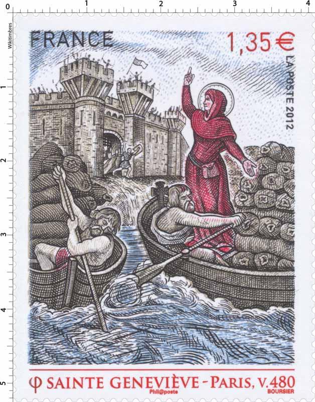Sainte Geneviève - PARIS, v.480