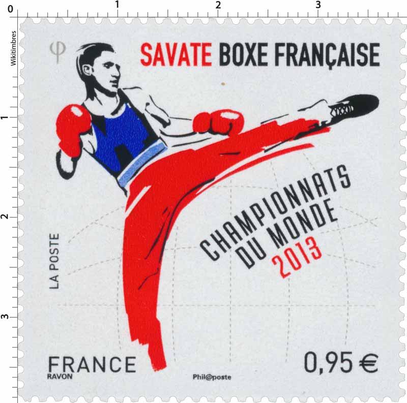 Championnats du Monde 2013 - Savate Boxe française