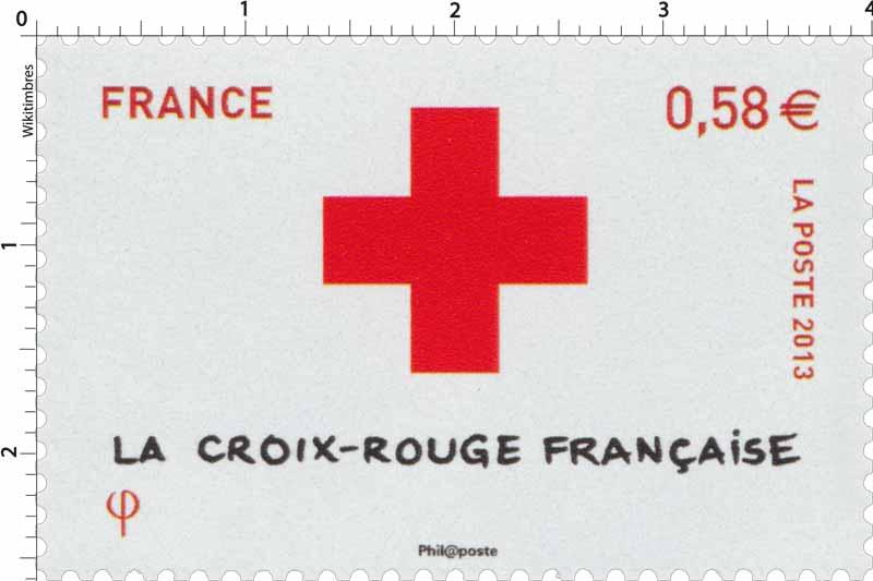 2013 La Croix rougefrançaise